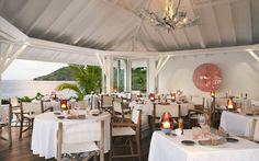 La Case De L'Isle Restaurant in St. Barts