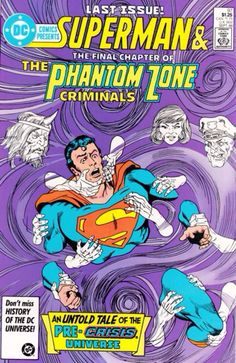 Phantom Zone: The Final Chapter [DC Comics Presents no. 97] (Sept 1986)