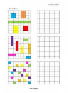 Ruimtelijke orientatie - 9 bij 9 nakleuren 05