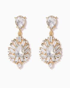 Baroness Baguette Earrings | Jewelry - RSVP Special Occasion | charming charlie