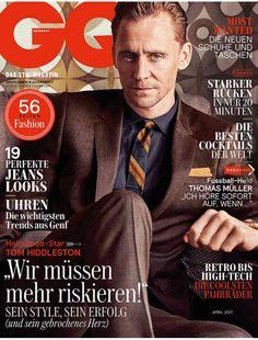 tom hiddleston — lolawashere:   Tom Hiddleston, cover boy. Part 3  ...