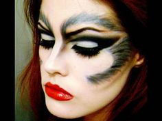 1000+ Images About Wolf Face Paint On Pinterest | Wolf Makeup Werewolf Makeup And Wolf Eyes