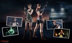 jill valentine resident evil operation racoon city | RE ORC Claire Redfield and Jill Valentine by SpeedyRedy