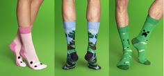 Minecraft Socks! - Game Front
