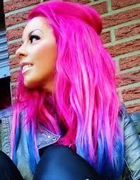 Krasse haarfarben