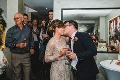 Bride and groom giving a speech during the wedding reception. Groom's Speech, Best Man Speech, A Good Man, Wedding Reception, Victoria, Bride, Couple Photos, Photography, Gardens
