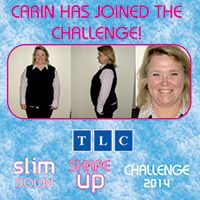 Carin has joined the Challenge! www.tlcforwellbeing.com