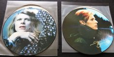 Online veilinghuis Catawiki: David Bowie - Great lot of 2 picture discs: Hunky Dory & Low.