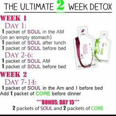 Detox with Soul and Core