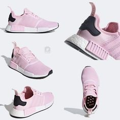 """ae87cdf461c19 JustFreshKicks on Instagram  """"Official Look at the women s adidas NMD R1  """"Clear Pink"""" releasing August 1st. Link to purchase is posted in our bio."""