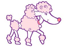 Wallmonkeys WM195253 Cute Pink Poodle Peel and Stick Wall Decals (48 in W x 34 in H) -- You can find out more details at the link of the image. (This is an affiliate link) #ModernHomeDecor
