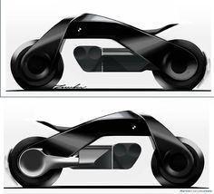 BMW Motorrad Design Director on the Vision Next 100 Concept BMW Motorrad Vision Next 100 sketches by Evgeniy Zhukov Bmw Cafe Racer, Futuristic Motorcycle, Futuristic Cars, Bmw Vision Next 100 Wallpaper, Bmw M4, Concept Bmw, Design Transport, Bike Sketch, E Mobility
