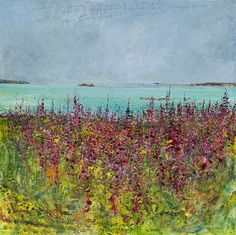 May 2012 Campden Gallery Contemporary Abstract Art, Contemporary Landscape, Modern Art, Landscape Artwork, Abstract Landscape, Kurt Jackson, Art Gallery Uk, St Just, Nostalgia