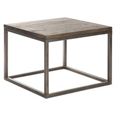 Bradley Wooden Side Table by Dover Mason | Zanui