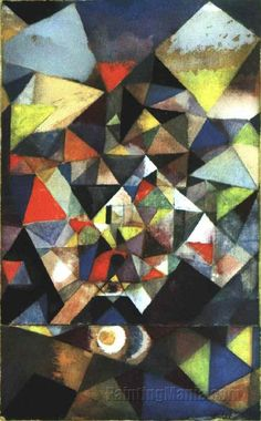 With the Egg by Paul Klee
