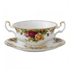 ROYAL ALBERT OLD COUNTRY ROSES CREAM SOUP
