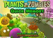 Plants Vs Zombies Quick Memory | Juegos Plants vs Zombies - jugar gratis