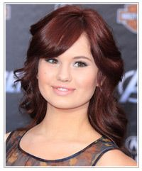 Debby Ryan - Dark Red hair