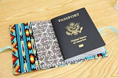 Passport cover pdf sewing pattern diy tutorial to make your own unify handmade diy passport cover solutioingenieria Images