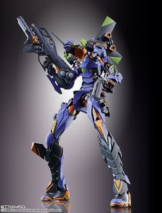 "[Metal Build] Evangelion Unit-01 Now Official! [February 2019] This looks really gorgeous! Goddamn it Bandai, look at all those details! Lucky for me, not an Evangelion fan, so I can safely say to myself ""Pass!' :D"