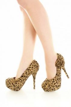 Leopard Platforms! I need these!