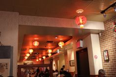 Szechuan Gourmet - New York, NY, United States. in-store decor.