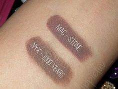 MAC Stone Dupes :) http://www.glossypolish.com/mac-stone-dupes/ MAC Stone #Dupes  <3 #mac #lipstick #macstone