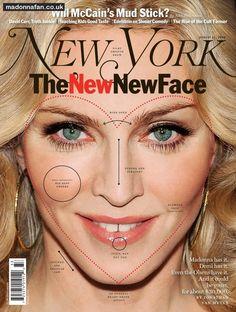 Madonna, New York Magazine Cover, 2008.   #madonna #mdna #queen #blonde #music #madonnamdna #pop #cover #magazine #covermagazine  http://www.madonnaweb.com.ar