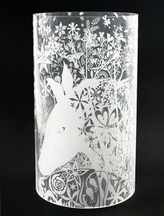 Tord Boontje Table Stories glass for Anthentics.
