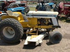 International CUB tractor salvage