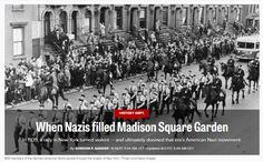 When Nazis filled Madison Square Garden / @politicoeurope | #socialhistory