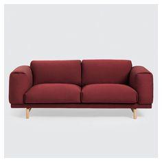 Muuto Rest Sofa - by Anderssen + Voll Outdoor Sofa, Outdoor Furniture, Outdoor Decor, Sofa Design, Muuto, Danish Design Store, Rest, Best Sofa, Sofa Furniture