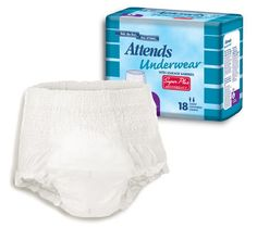 #Attends Super Plus Absorbency Underwear by Magic Medical