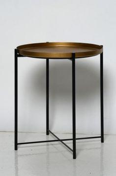 Ikea Gladom metallinen sohvapöytä, maalattu