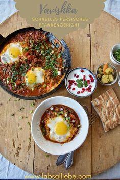 Vavishka - ein schnelles persisches Pfannengericht - Labsalliebe
