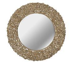 Coastal Mirrors and Beach Themed Mirrors - Beachfront Decor Beach Mirror, Nautical Mirror, Rope Mirror, Rope Frame, Round Wall Mirror, Wall Mounted Mirror, Round Mirrors, Wall Mirrors, Nautical Rope