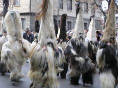 Bulgarian Kukeri festival, day of monsters