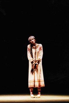 Marie Claude Pietragalla , Ballet de l'Opera National de Paris, 1990