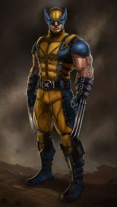 Wolverine X-Men Marvel Marvel Dc Comics, Marvel Wolverine, Hq Marvel, Marvel Heroes, Wolverine Costume, Wolverine Movie, Comic Book Characters, Comic Book Heroes, Marvel Characters