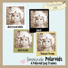 Polaroid .png Frames -free download
