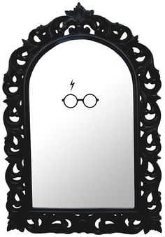 Harry Potter insipred mirror decal by Walkingdeadpromotion on Etsy from walking Dead Promotions. Saved to harrypotterLOVE. Harry Potter Mirror, Harry Potter Bathroom, Theme Harry Potter, Harry Potter Room, Mirror Decal, Mirror Mirror, Anniversaire Harry Potter, Yer A Wizard Harry, Cool Mirrors