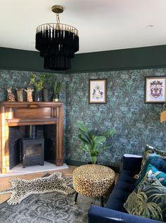 #ARARASTOVE #WOODBURNER #STOVE #ARADA #DIVINESAVAGES #DIVINE #SAVAGES #JUNGLE #FAUNACATION #LOUNGE #DEN #PLAYROOM Wooden Fireplace Surround, Brick Fireplace, Black Marble Tile, Marble Tiles, Dark Lounge, Wood Burner Stove, Rat House, Snug Room, Interior Styling