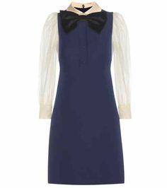 Wool and silk dress | Gucci
