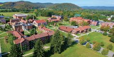 St. Bonaventure University, between Allegany and Olean, NY.  It really is this beautiful!