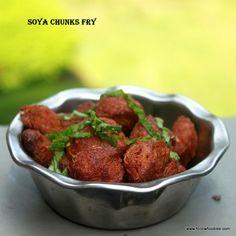 Crispy and crunchy Fried Protein packed Soya Chunks recipe . #Soya #MealMaker #Fry
