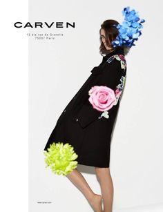 Carven summer 2014 by Viviane Sassen, featuring Marte Mei van Haaster  x