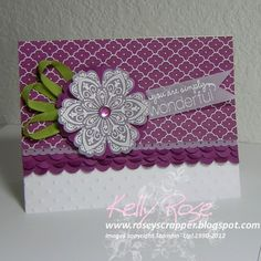 Mixed Bunch Card Kit by kellysrose - Cards and Paper Crafts at Splitcoaststampers