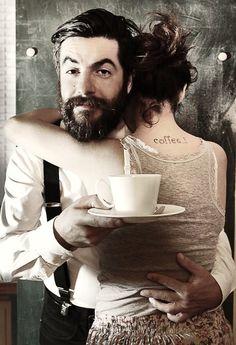 mmm. coffee. mmm@ men who bring me coffee