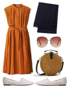 """""""Summer"""" by aneeqlondon on Polyvore featuring Uniqlo, MANGO, simple and Modest"""
