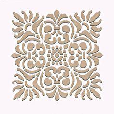 Wall Stencil | Small Sicilia Tile Stencil | Royal Design Studio